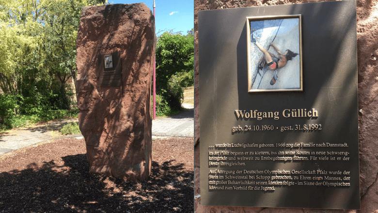 Denkmal von Wolfgang Güllich